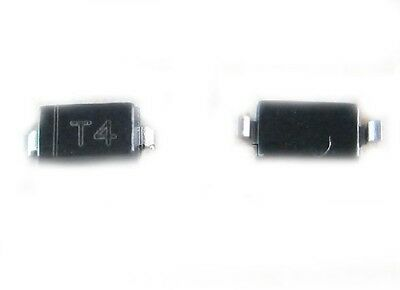 100PCS SMD Diode T4 1N4148 IN4148 IN4148W Switch Diode SOD-123