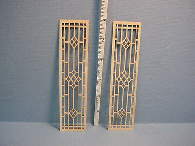 Miniature Decorative French Door Mullions #F-F Laser Creations Pr