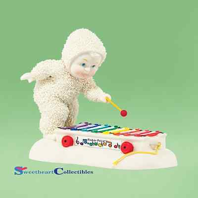 Department 56 Snowbabies 4038111 Fisher Price Pull-A-Tune 2014