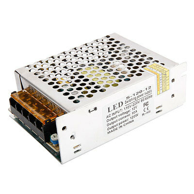 S-120-12 12V 10A 120W High Quality Switching Power Supply Silver