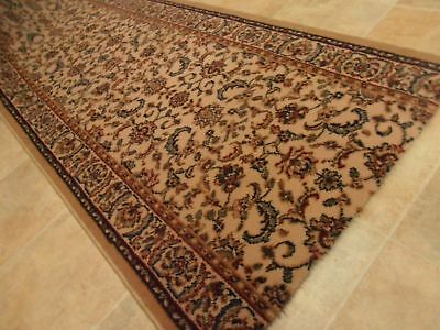 New HALLWAY Runner DECO WOOL 67cm w price per m Stair Hall Carpet Persian Look