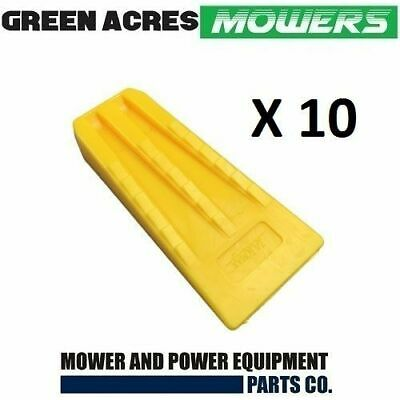 10 Pac Of 5 1/2 Inch Chainsaw Tree Felling And Splitting Wedges