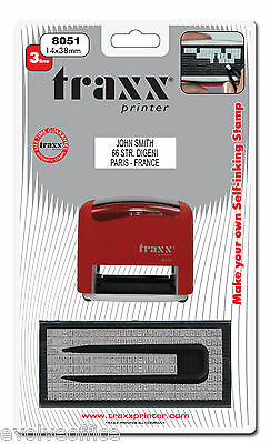 Garage / Mechanics Rubber Stamp Self Inking DIY Style Ideal for Service 8051