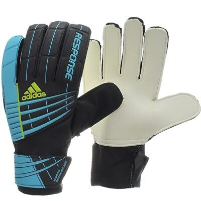 Adidas RESPONSE GRAPHIC REPLIQUE schwarz bl Torwarthandschuhe Keeper Gloves OVP