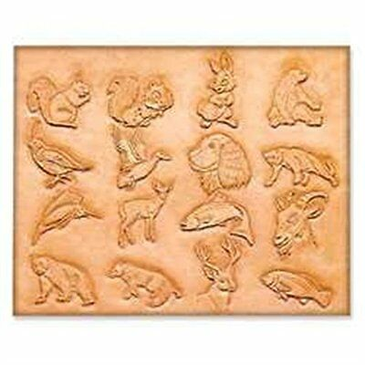 "Craftaid Plastic Animal Template 3/4"" 75001-00 by Tandy Leather"
