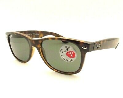 Ray Ban New Wayfarer 2132 902/58 Tortoise Buyer Picks Size New Auth Polarized