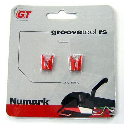 Numark Groovetool RS Replacement Stylus Styli For GrooveTool Cartridge PAIR