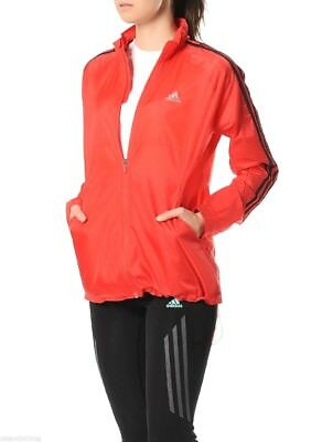 Women's Adidas Response Lightweight Windbreaker Running Jacket
