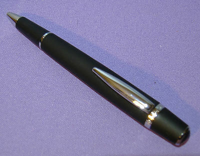 NEW WATERFORD ARISTA Matte Black Soft Touch BALLPOINT PEN