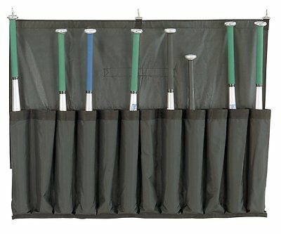 Baseball Bat Caddy Holder Holds 12 Bats