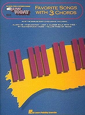 3-Chord Hymns for Guitar Sheet Music Play 30 Hymns with 3 Easy Chords 000703084
