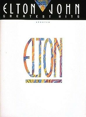 Elton John Greatest Hits Updated Sheet Music Easy Piano NEW 000222538
