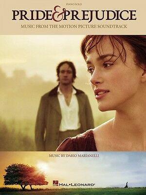 Pride & and Prejudice Sheet Music from Movie Piano Solo Songbook NEW 000313327