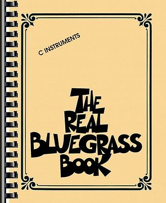 The Real Bluegrass Book Sheet Music C Instruments Real Book Fake Book  000310910