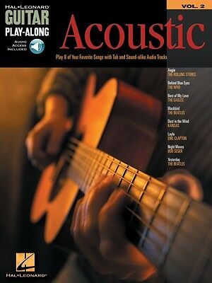 Acoustic Songs Sheet Music Ukulele Play-Along Book and CD NEW 000122336