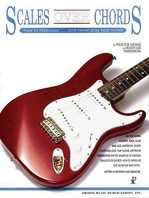 Scales over Chords - Book and CD NEW 014028888