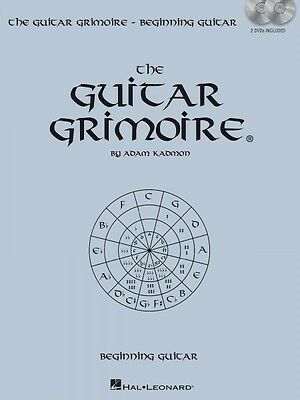 The Guitar Grimoire - Beginning Guitar Guitar Educational Book with DV 000696375