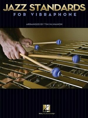 Jazz Standards for Vibraphone Percussion Book NEW 006620168