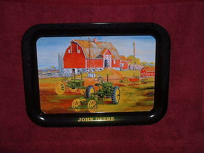2003 Issue JOHN DEERE Diecast Metal SERVING TRAY
