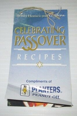 Planters Peanuts Better Homes Gardens Celebrating Passover Pesach Recipe Tag