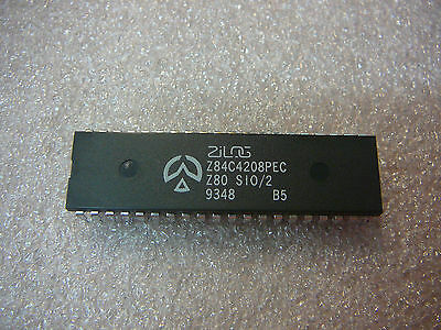 ZILOG Z84C4208PEC I/O Controller Interface IC 8MHz CMOS Z80 SIO/2 40-DIP Qty.1