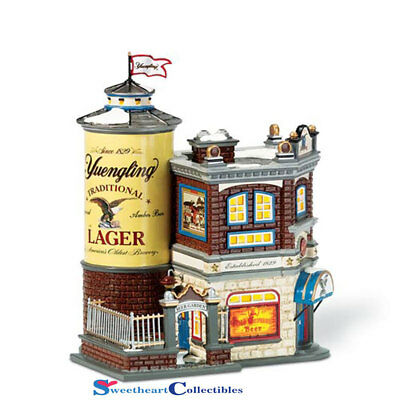 Department 56 Snow Village Yuengling Tavern New Retired