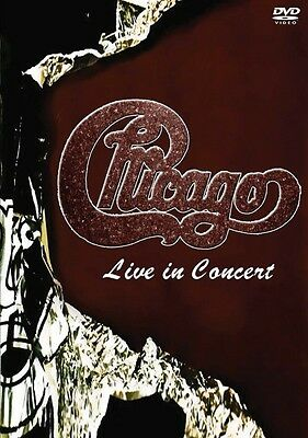 Chicago Live in Concert Live  DVD NEW 000321242