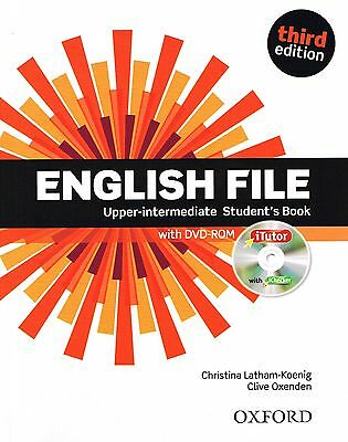 ENGLISH FILE Upper-Intermediate Third Edition Student's Book +iTutor DVD-ROM New
