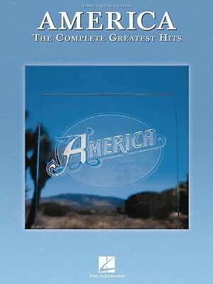 America The Complete Greatest Hits Sheet Music Piano Vocal Guitar Song 000110575