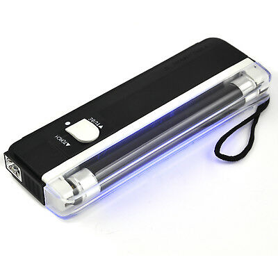 Mini Portable UV Light For Fake Forged Bank Note Money Checker  - By TRIXES
