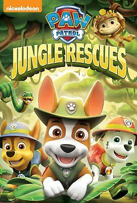 Paw Patrol Jungle Rescues  DVD New Sealed Nickelodeon R4
