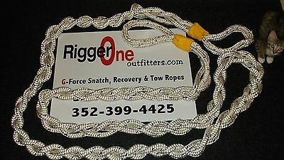 """G-FORCE SNATCH ROPE 3/4""""x 25' B.S.> 57,000 LBS"""