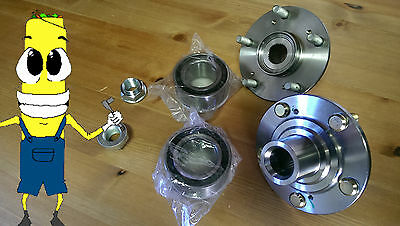 Front Wheel Hub And Bearing Kit Assembly for Civic Si 06-2011 K20Z3 PAIR TWO