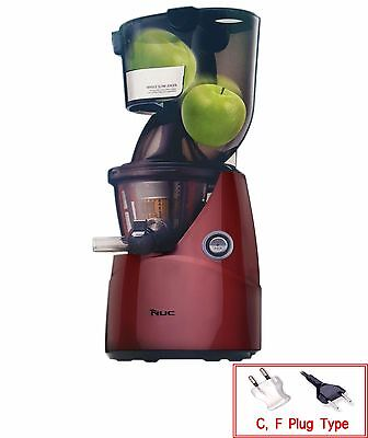 NUC Kuvings Whole Mouth Slow Fruit Juicer KJ-622R Juice Extractor (B6000PR) NEW!