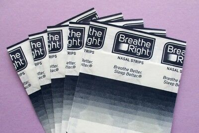 Zum Testen: 10 Breathe Right Extra transparent Nasenpflaster Nasenstrips