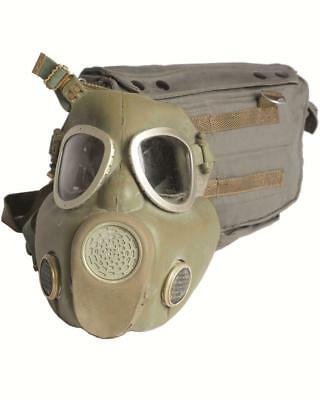 Polish MP4 gas mask respirator and bag  unusual, collectible