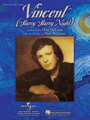 The Legendary Songs of Don McLean Sheet Music Piano Vocal Guitar SongB 000306968