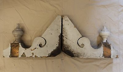 Antique Shabby Wood Victorian Corbels Roof Brackets Vintage Country Chic 3330-14