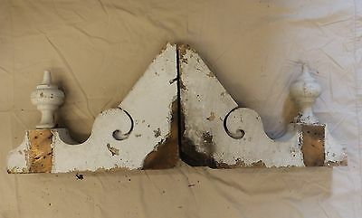 Antique Shabby Wood Victorian Corbels Roof Brackets Vintage Country Chic 3331-14