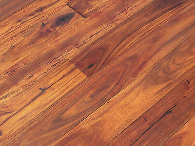 "3-5/8"" Solid Prefinished Acacia Walnut Sunset Hardwood Flooring Floor Sample"