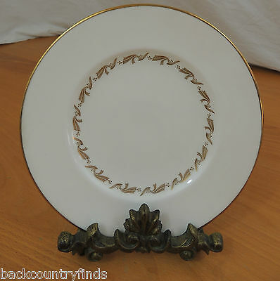 GOLDEN FLEECE by Wedgwood 1 Salad Plate Gold Green Stamp