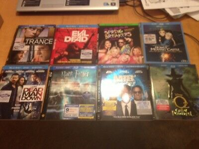Blu-Ray Cardboard Slip-Covers/sleeves Choose From Lot (Slip Covers Only)  Bonus
