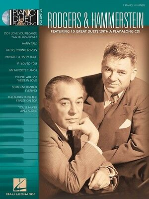 Rodgers /& Hammerstein Sheet Music Piano Duet Play-Along Book and CD NE 000290569