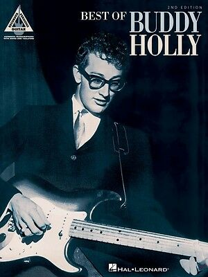Best of Buddy Holly 2nd Edition Sheet Music Guitar Tablature Book NEW 000660029