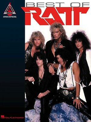Best of Ratt Sheet Music Guitar Tablature NEW 000690426