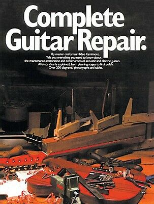 Complete Guitar Repair - Book NEW 014007335