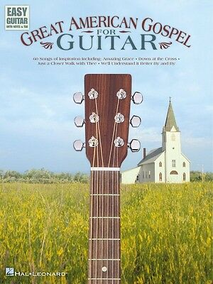 Great American Gospel for Guitar Sheet Music Easy Guitar NEW 000702148