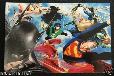 Comic Con 2012 Handout DC Alex Ross Liberty & Justice - Kult Studio Lobby card