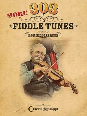303 More Fiddle Tunes Sheet Music Fiddle Book NEW 000001218