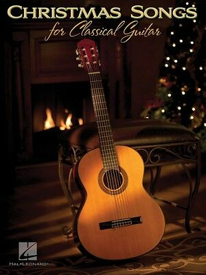 Christmas Songs for Classical Guitar Sheet Music Guitar Solo Book NEW 000701198